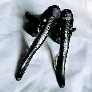 Carbon Campagnolo Record 10 speed Shifter Set