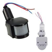 Outdoor 12V DC Automatic Infrared PIR Motion Sensor Switch for LED Light I9Z8