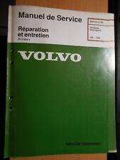 Volvo 240 1992 1993 : schémas électriques