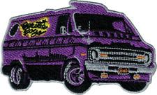 89119 Beastie Boys Logo Purple Van Hip Hop Rock Rap Band Music Iron On Patch