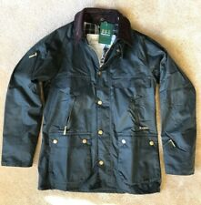 Barbour Bedale Icons Jacket Coat Waxed Cotton Jacket Olive Sage Men's M NWT $545