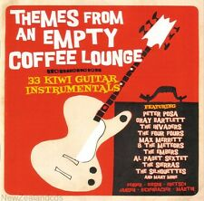 Themes from an Empty Coffee Lounge 33 Kiwi Guitar Instrumentals New Zealand cd