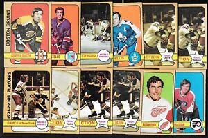 1972-73 OPC 72-73 O PEE CHEE NHL HOCKEY CARD + ERROR & VARIATION 1-110 SEE LIST