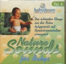 CD Album Nature Sounds fuer Babys / Vol. 6 von babydream 1999