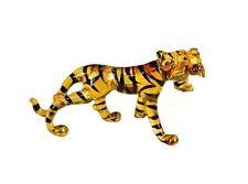 Miniature Tiger Glass Blown animals figurine Art glass figurine Dollhouse Animal