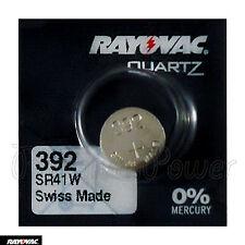 1 x Rayovac 392 battery Silver Oxide 1.55V 384 Sr41W V392 Sr736 Watches Swiss
