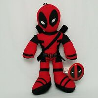 Large 14'' Deadpool Plush. Stuffed Animal .Marvel Licensed Toy USA NEW