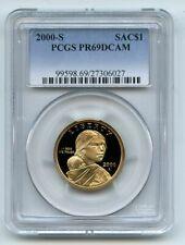 2000 S $1 Sacagawea Dollar PCGS PR69DCAM