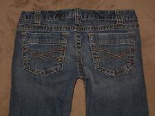 Aeropostale Size 5/6 Reg Bayla Skinny Leg Medium Blue Stretch Denim Womens Jeans
