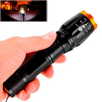 2000lm Zoomable FOR Cree XM-L T6 LED 18650 Flashlight Torch Zoom Lamp Waterproof
