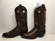 WOMENS DOUBLE H RED BRICK BOOTS SIZE 7 M