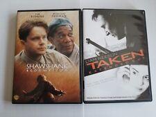 The Shawshank Redemption - Taken - Dvd - 2 Titles - Both Widescreen