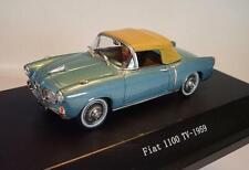 Starline 1/43 Fiat 1100 TV (1959) metallic blau OVP #3859
