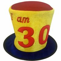 Birthday Hat Ages 30 30th Party Decoration