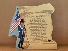 Cat's Meow Village The Star Spangled Banner~2005~New