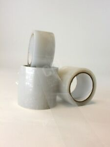 UVI Clear Polythene Repair tape 75mm x 25m for polytunnels, greenhouses