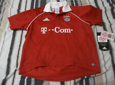 Vintage FC BAYERN MUNCHEN MUNICH Jersey  SIZE XS NWT HAS DEFECTS LOOK