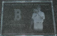 2003 Playoff Absolute Memorabilia Etched Glass Autograph Pedro Martinez 1 of 5