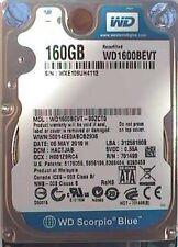 "160GB Western Digital WD1600BEVT 2.5"" SATA 5400rpm WD Scorpio Blue"