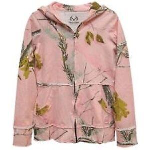 Realtree Pink Camo Jacket, Ladies Zip