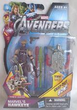 "ULTIMATE HAWKEYE Avengers Movie Comic Series Hasbro 2012 4"" figure no. 05 Marvel"