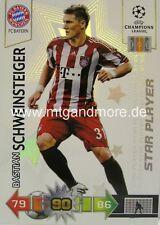 Adrenalyn XL CL 10/11 Bastian Schweinsteiger Star