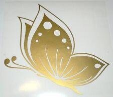 adesivo ritagliato FARFALLA Fiat 500 auto wall sticker decal BUTTERFLY big fly