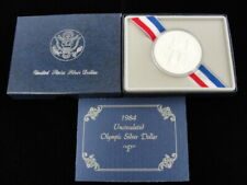 1984-P United States Mint Uncirculated Olympic Silver Dollar