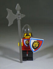 LEGO Castle Royal Knights Minifig: Knight 4 with helmet, shield, halberd