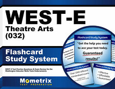 WEST-E Theatre Arts (032) Flashcard Study System