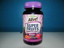 Natures Way Alive! Vitamin Complete Multi Gummies 60 Womens Super Fruit 3/21