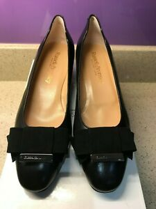 RUSSELL & BROMLEY BLACK LEATHER SHOES 36 UK 3