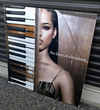 "2003 The Diary Of Alicia Keys 36x36"" Cardboard Promo Poster Vg+ 4.5"