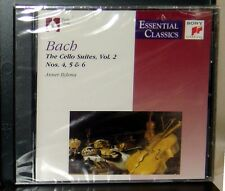 Bach The Cello Suites, Vol. 2, Nos. 4,5&6  (Essential Classics)  Sony 1999 NEW