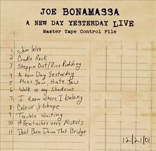 Joe Bonamassa, New Day Yesterday Live, Excellent