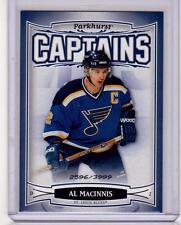 AL MacINNIS 06/07 Parkhurst CAPTAINS Insert Card #226 St Louis Blues /3999
