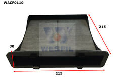 WESFIL CABIN FILTER FOR Subaru Impreza 2.0L 2012-on WACF0110