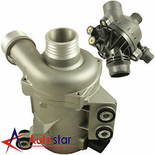 New Electric Engine Water Pump With Thermostat For BMW X3 X5 128i 328i 528i