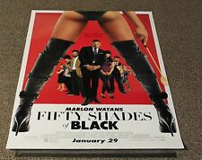 """FIFTY SHADES OF BLACK 2016 ORIG UNFOLDED 27X40"""" 1Sheet Movie Film POSTER *SEXY*"""