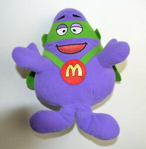 McDonalds Grimace Superhero Plüsch - 25cm - 2003