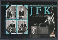 St Kitts 2013 MNH John F Kennedy 50th Memorial Anniv 4v M/S JFK US Presidents