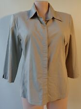The Republic size 18 shirt top 3/4 sleeve stretch fabric sage green