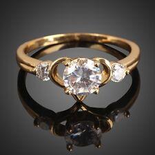 Modeschmuck-Ringe im Cocktail-Stil aus Gelbgold