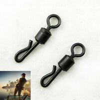 20pcs/lot Q-Shaped Matt For Carp Quick Change Swivel Fishing Terminal Tackle HU