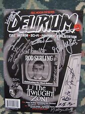 Delirium ( Full Moon ) # 13 Uncirculated  The Twilight Zone signed by 14