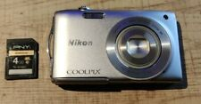 Nikon Coolpix S3300 Digital Camera 6x Zoom 16.0 Megapixels, 4gb sd card . Tested