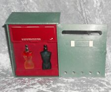 Collectors mini parfum Set From Jean paul gaultier Mail box