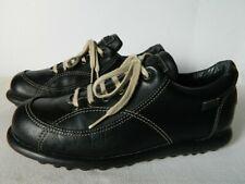 baskets hautes compensées à lacets noir//blanc neuf Débardeur-femmes baskets uk stock