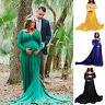 Pregnant Women Maxi Gown Photography Photo Shoot Fancy Maternity Long Wrap Dress