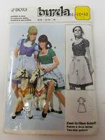 Vintage Sewing Pattern Octoberfest Dress Costume Cosplay Burda 29013 Uncut